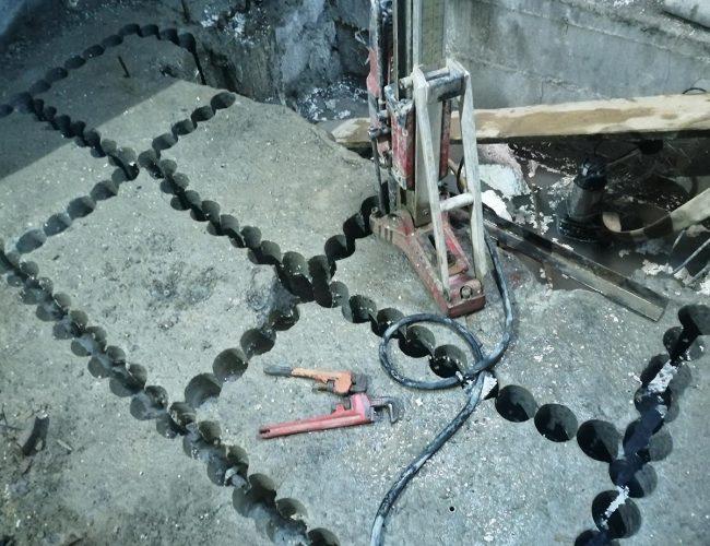 انجام عملیات اجرایی مقاوم سازی سازه،سوراخکاری بتن،کرگیری،برش بتن، دریل کاری،برش بتن سقف،برش بتن دیوار،حذف بتن اضافه،