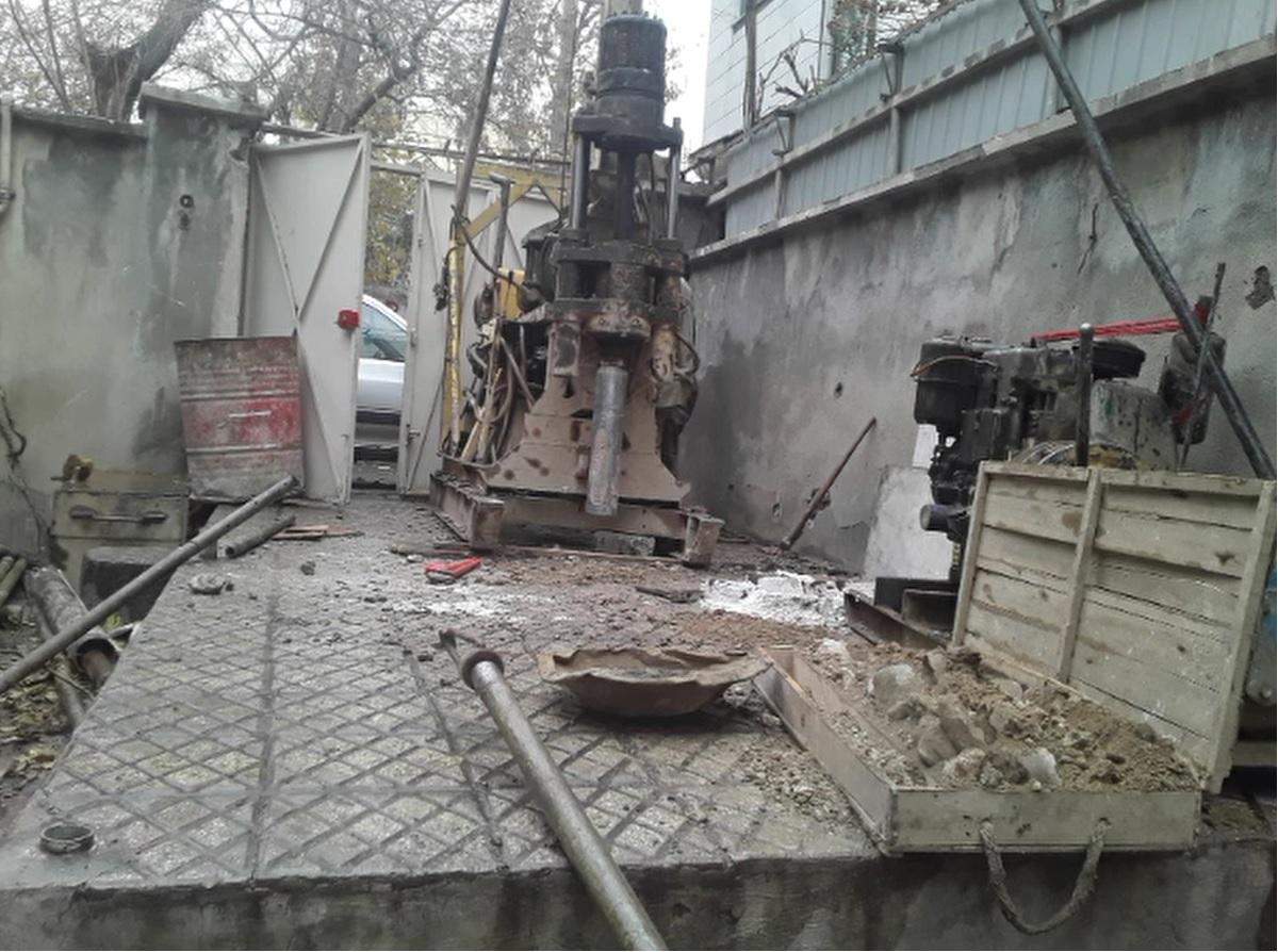 آزمایش خاک- سراسر تهران